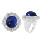 Lapis Lazuli Ring 4994/WCZ/R ~ FREE SHIPPING ~