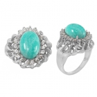 Amazonite Ring 4996 ~ FREE SHIPPING ~