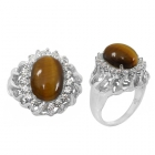 Tigers Eye Ring 4996 ~ FREE SHIPPING ~