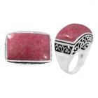 Rhodonite Ring 5085/OXI ~ FREE SHIPPING ~