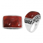 Sponge Coral Ring 5085/OXI ~ FREE SHIPPING ~