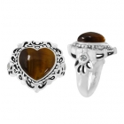 Tigers Eye Ring 5092/WCZ/R ~ FREE SHIPPING ~