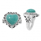 Amazonite Ring 5092/WCZ/R ~ FREE SHIPPING ~