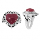 Rhodonite Ring 5092/WCZ/R ~ FREE SHIPPING ~