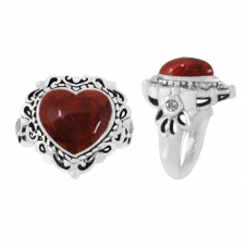 Sponge Coral Ring 5092/WCZ/R ~ FREE SHIPPING ~