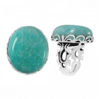 Amazonite Ring 5119 ~ FREE SHIPPING ~