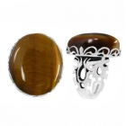 Tigers Eye Ring 5119 ~ FREE SHIPPING ~