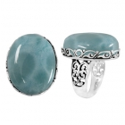 Larimar Ring 5120 ~ FREE SHIPPING ~