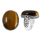 Tigers Eye Ring 5120 ~ FREE SHIPPING ~