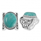 Amazonite Ring 5135 ~ FREE SHIPPING ~