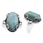 Larimar Ring 5153/OXI ~ FREE SHIPPING ~