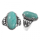 Amazonite Ring 5215/AMA/OXI ~ FREE SHIPPING ~