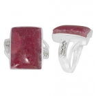 Rhodonite Ring 5496/WCZ/R ~ FREE SHIPPING ~