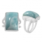 Larimar Ring 5502 ~ FREE SHIPPING ~