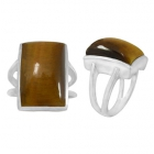 Tigers Eye Ring 5502 ~ FREE SHIPPING ~