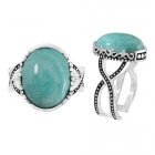 Amazonite Ring 5577/AMA/OXI ~ FREE SHIPPING ~